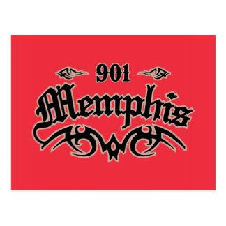 Memphis 901 postcard