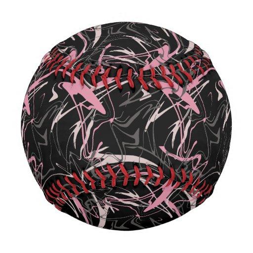 Memphis Abstract Pattern Baseball