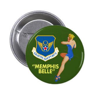 """Memphis Belle"" 8th Air Force 6 Cm Round Badge"