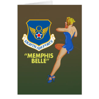 """Memphis Belle"" 8th Air Force Greeting Card"