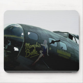 Memphis Belle, nose art Mouse Pad