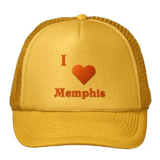 Memphis -- Burnt Orange Trucker Hats