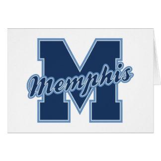Memphis Letter Card