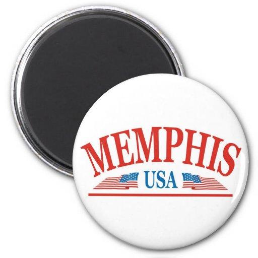 Memphis Fridge Magnet