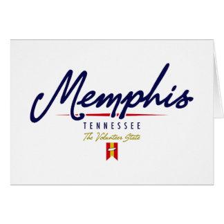 Memphis Script Cards