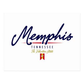 Memphis Script Post Card
