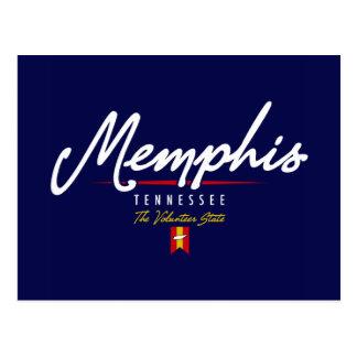 Memphis Script Postcard