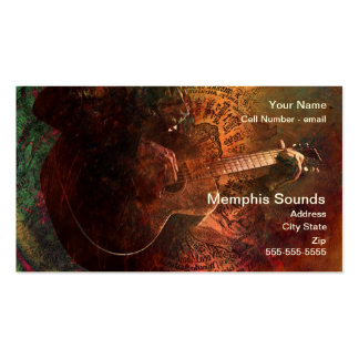 Memphis Sounds Pack Of Standard Business Cards