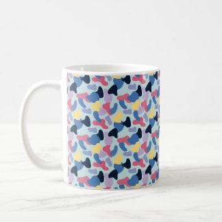 Memphis Style Bright Blobs Coffee Mug