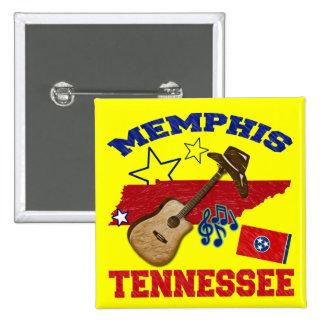 Memphis, Tennessee 15 Cm Square Badge