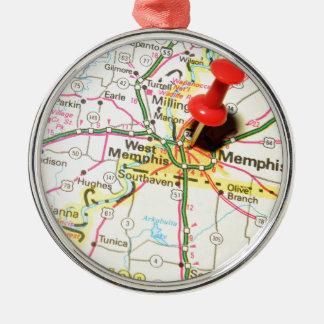 Memphis, Tennessee Christmas Ornament
