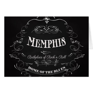 Memphis, Tennessee - City with Soul Greeting Card