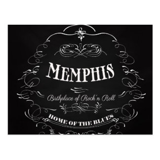 Memphis, Tennessee - City with Soul Postcard