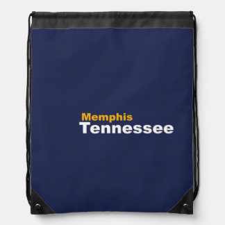Memphis, Tennessee Drawstring Backpack