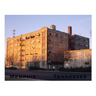 Memphis Tennessee Morning Postcard