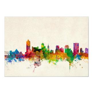 Memphis Tennessee Skyline Cityscape Announcement
