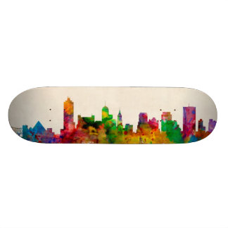 Memphis Tennessee Skyline Cityscape Skate Board
