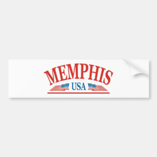 Memphis Tennessee USA Bumper Sticker