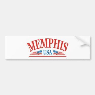 Memphis Tennessee USA Bumper Sticker
