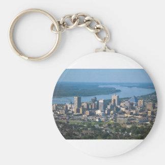 Memphis Tennsesse Skyline Key Ring