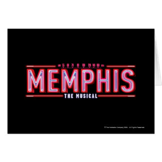 MEMPHIS - The Musical Logo Greeting Card