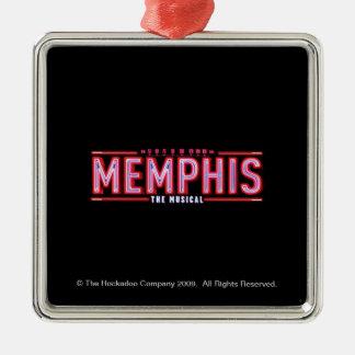 MEMPHIS - The Musical Logo Christmas Ornament