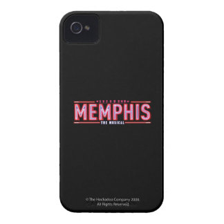 MEMPHIS - The Musical Logo iPhone 4 Case-Mate Cases