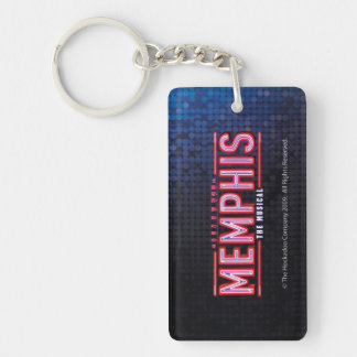 MEMPHIS - The Musical Logo Key Ring
