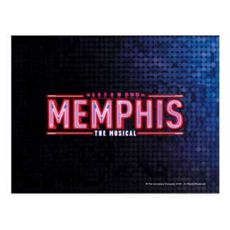 MEMPHIS - The Musical Logo Post Cards