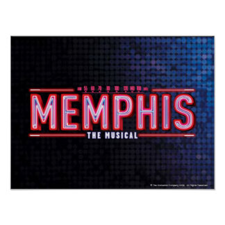 MEMPHIS - The Musical Logo Posters