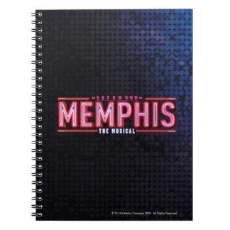 MEMPHIS - The Musical Logo Spiral Note Book