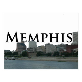 Memphis TN Skyline with Memphis the Sky Postcard