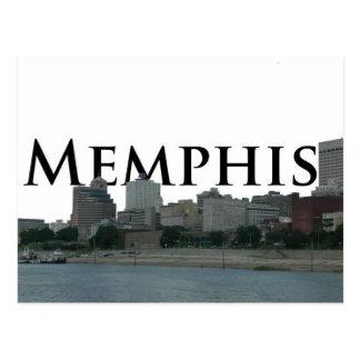 Memphis TN Skyline with Memphis the Sky Post Card