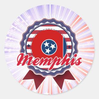 Memphis, TN Sticker