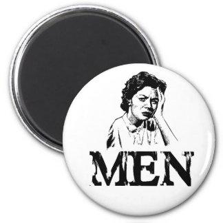 Men 6 Cm Round Magnet