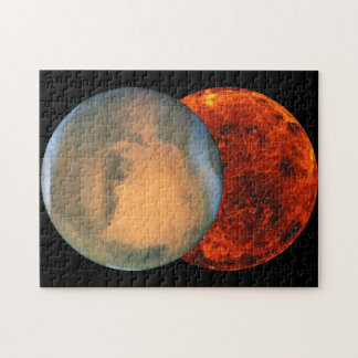 Men are from Mars - Women are from Venus Jigsaw Puzzle