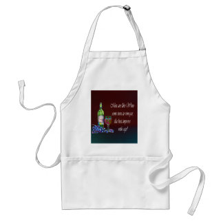 Men are like Wine! Humorous Wine Quote Gifts Standard Apron