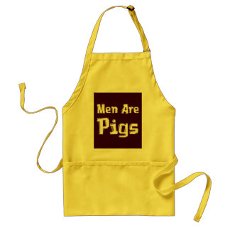 Men Are Pigs Gifts Apron