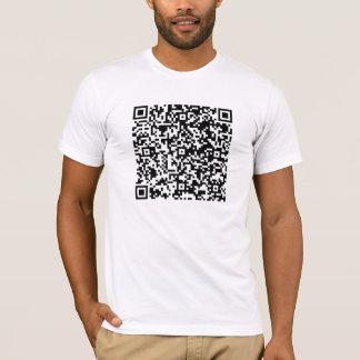 Men are so necessarily mad Mens QR Code T-Shirt