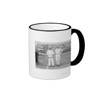 Men at Tennis Tournament at Washington DC Coffee Mug