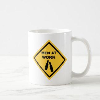 Men at Work Coffee Mug