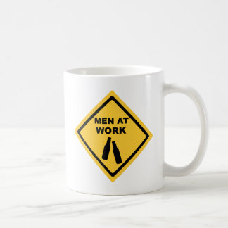 Men at Work Coffee Mugs