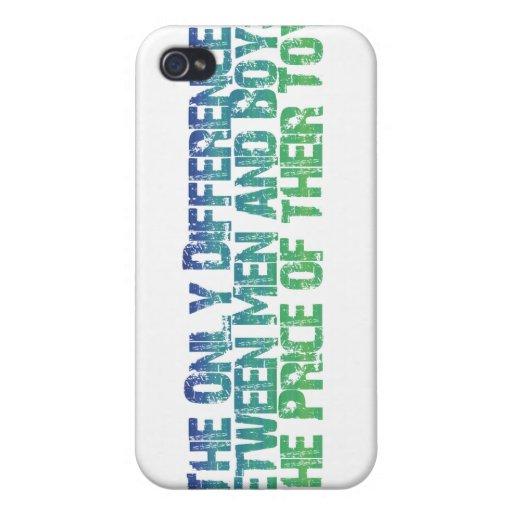 Men & Boys iPhone 4/4S Case