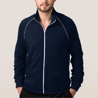 Men California Fleece Track Jacket  7 color option