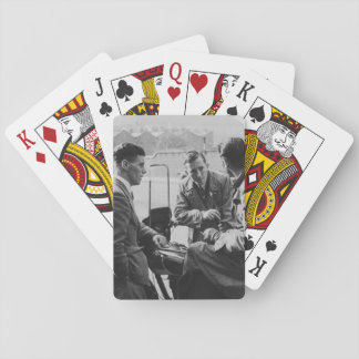 Men Chatting Old Image Standard Playing Cards