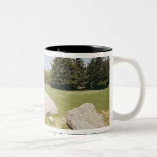 Men-er-Hroech'h Two-Tone Coffee Mug