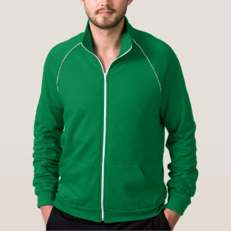Men Fleece Track Jacket Edit n choose color U like