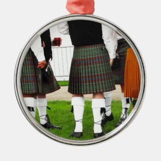 Men In Skirts Christmas Ornament