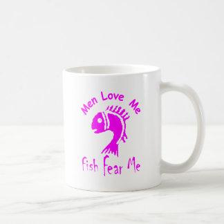 MEN LOVE ME - FISH FEAR ME COFFEE MUGS