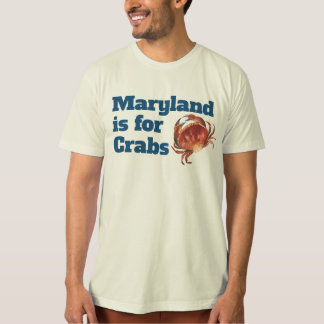 MEN - Maryland is for Crabs T-shirt